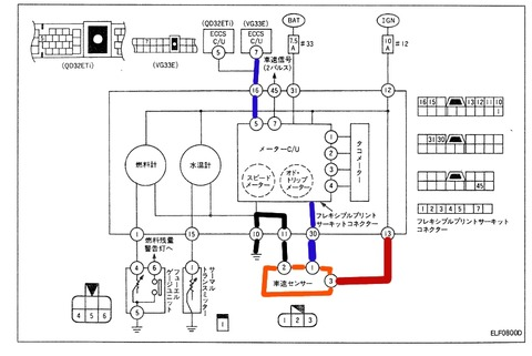 車速センサ回路図